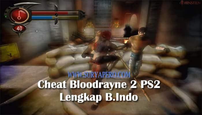 bloodrayne 2 cheats