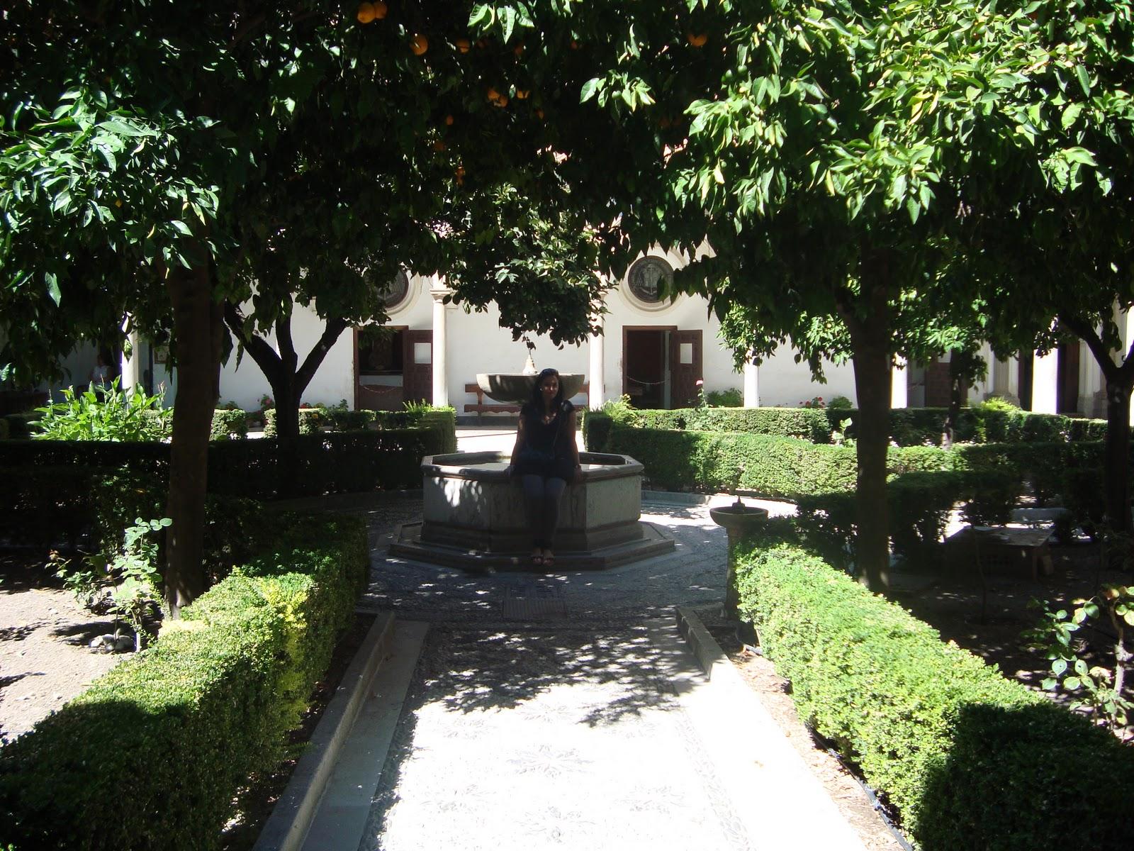 almuerzo Virgen semen cerca de Granada