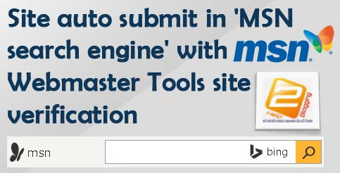 Auto Submit URL To MSN Search Engine