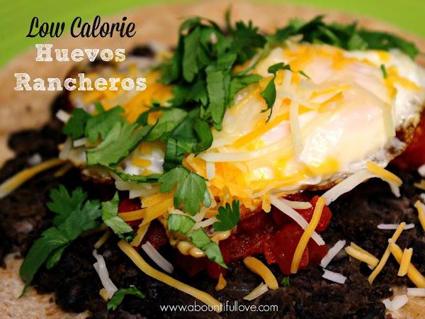 Low Calorie Huevos Rancheros
