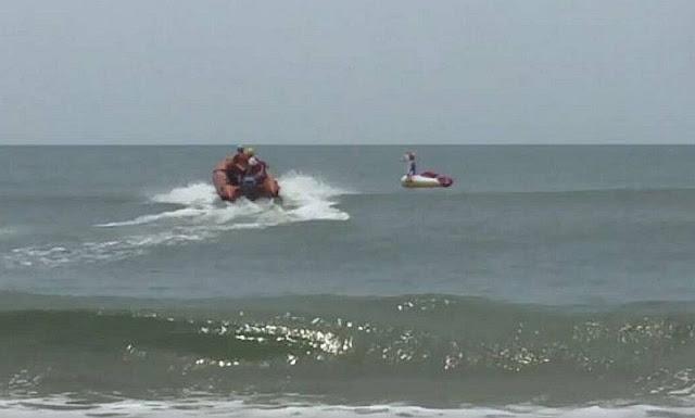 Γύθειο: Παραλίγο τραγωδία με ανήλικο που παρασύρθηκε με φουσκωτή βάρκα από τον αέρα