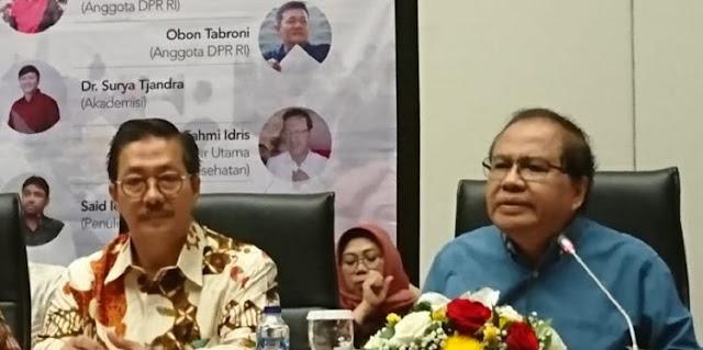 Rizal Ramli Sebut Luhut Cocok Jadi Dubes Kehormatan China