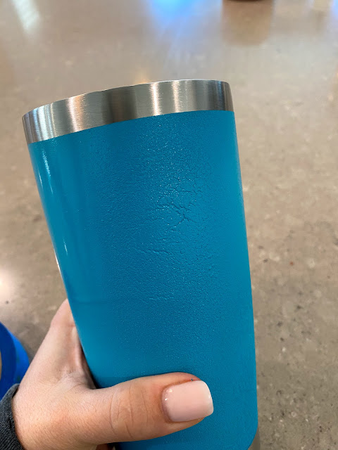 glitter tumbler, how to, beginner tutorial, Silhouette project idea, adhesive vinyl
