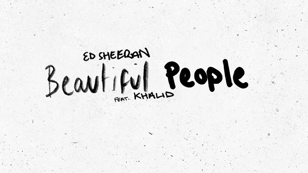 Beautiful People ( Ed Sheeran) feat. Khalid | Guitar Chords and Strumming Pattern