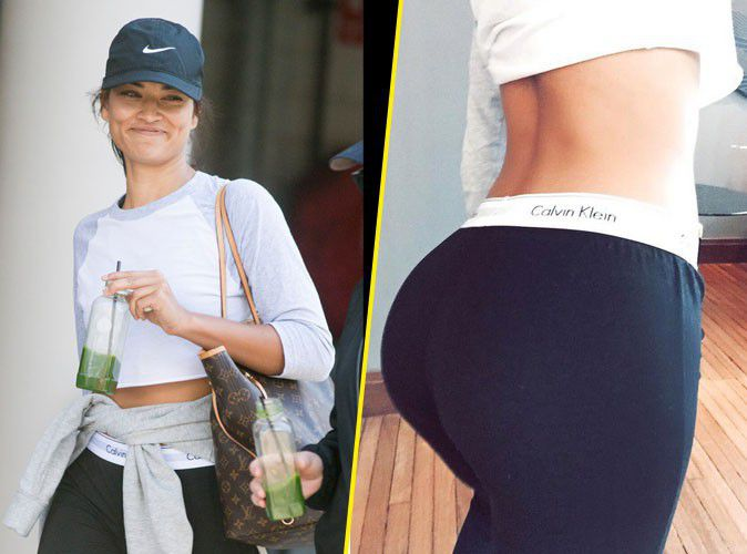 Shanina Shaik: a pretty buttocks bounced like hers, it speaks!
