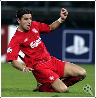 Milan Barros Liverpool