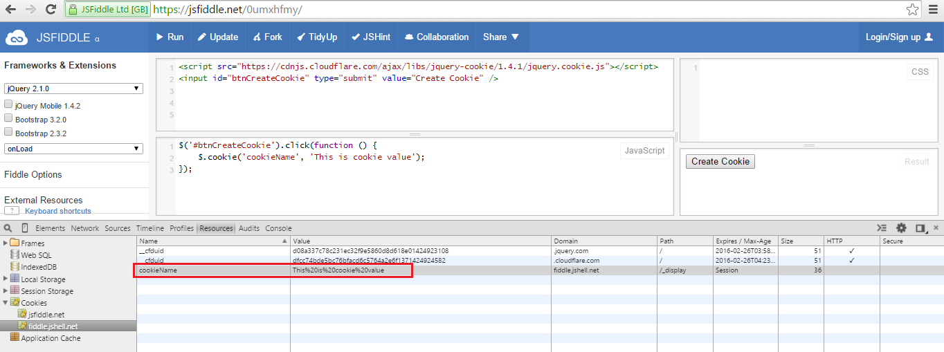 Cookies in jQuery with jQuery Cookie library