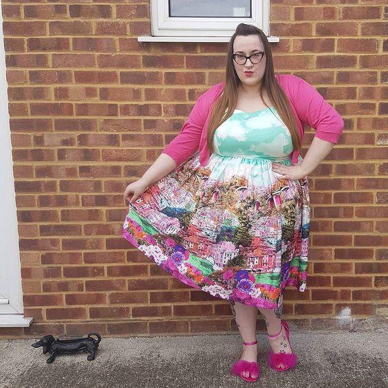 Lindy Bop Marlene riviera swing dress