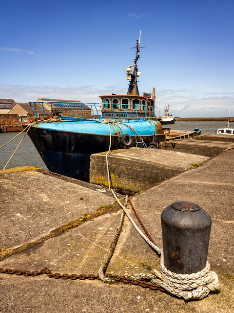 Photo of Sara Maria in Maryport Harbour
