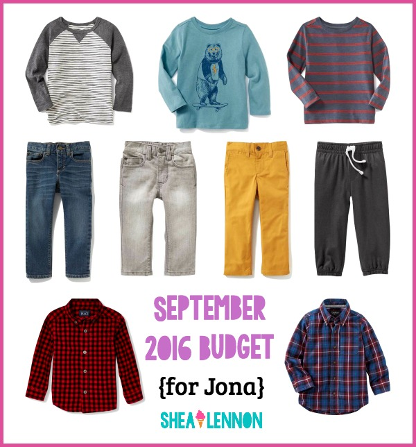 Fall clothes for toddler boy - what I bought | www.shealennon.com