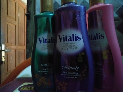 mandi parfum, vitalis body wash