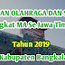 Porseni Tingkat MA Se Jawa Timur Tahun 2019 di Bangkalan