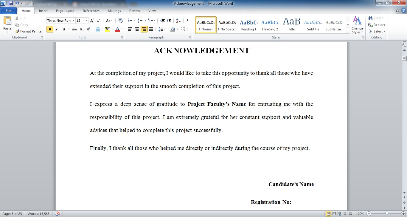 aima assignment cover page