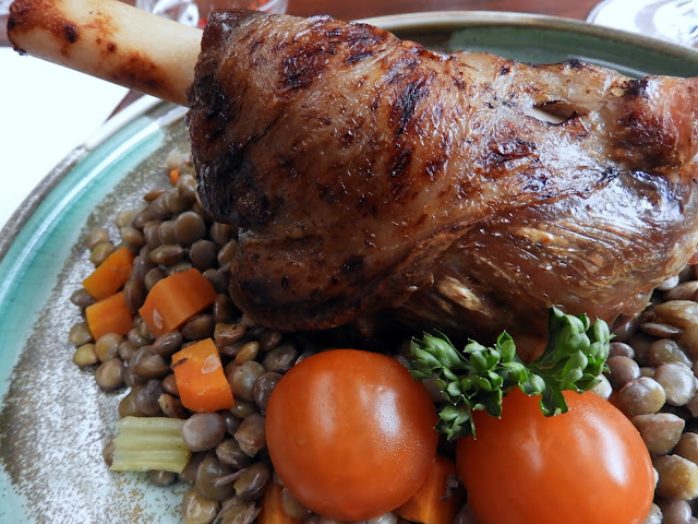 The Rosemary -Hungarian Restaurant - slow cooked Lamb Shank
