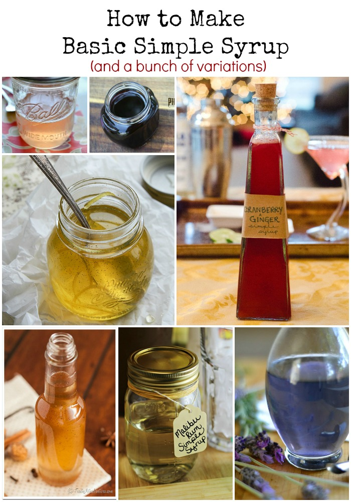 How to Make Basic Simple Syrup (and a bunch of variations