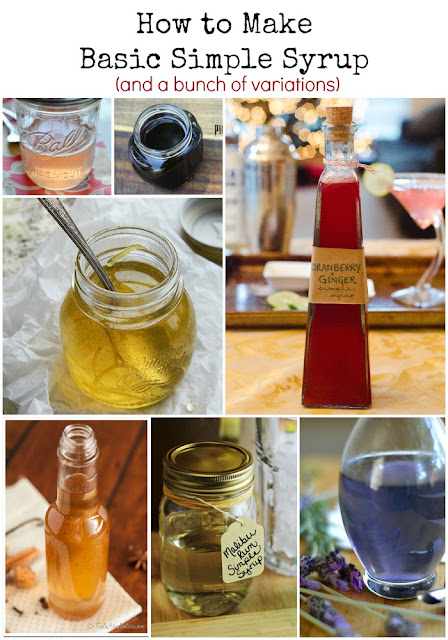 How to Make Basic Simple Syrup (and a bunch of variations)
