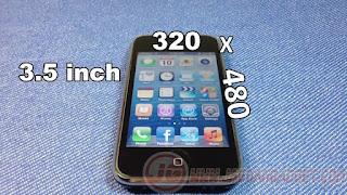 Dimensi iPhone 3G