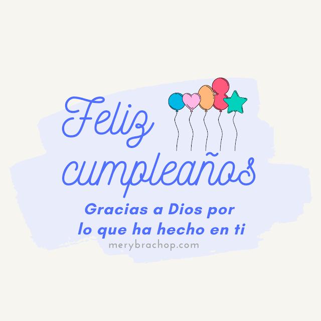 imagen con tarjeta de cumpleaños para un cristiano