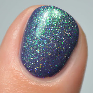 color shifting nail polish topper