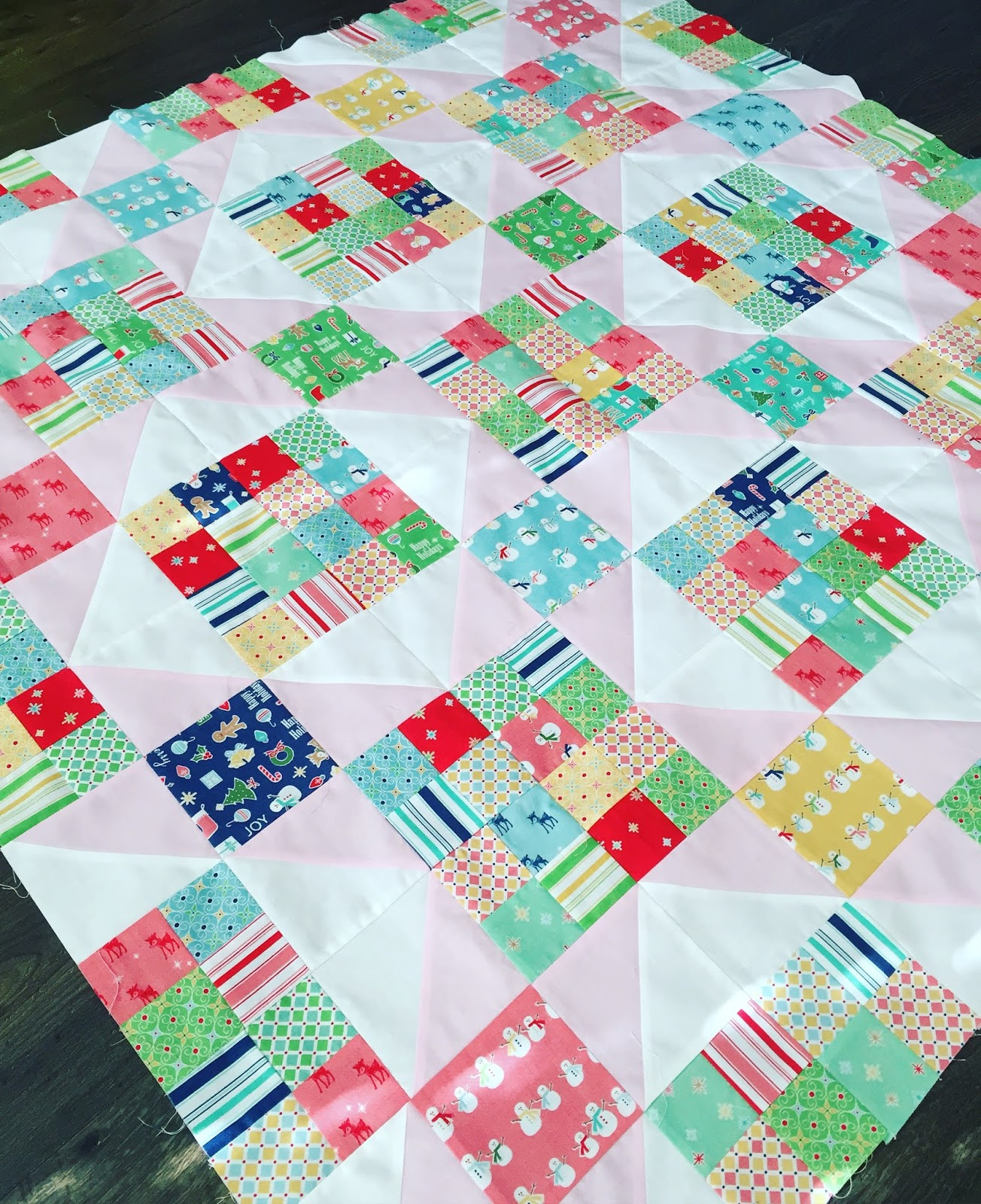 Keep Cozy At Christmas Quilt Free Pattern Samelia S Mum