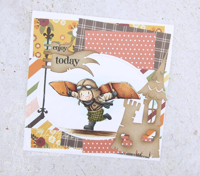 Heather's Hobbie Haven - Off to a Flying Start Card Kit