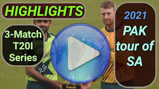 South Africa vs Pakistan T20I Series 2021