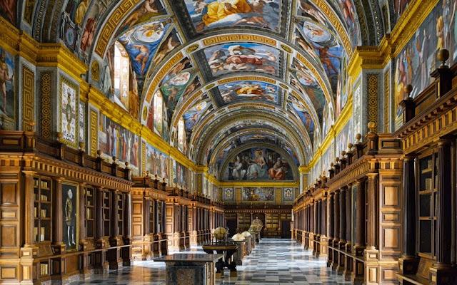 Biblioteca Escorial - San Lorenzo de El Escorial, Espanha