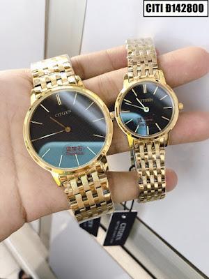 Đồng hồ cặp đôi Citizen Đ142800