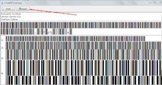 instal font untuk barcode