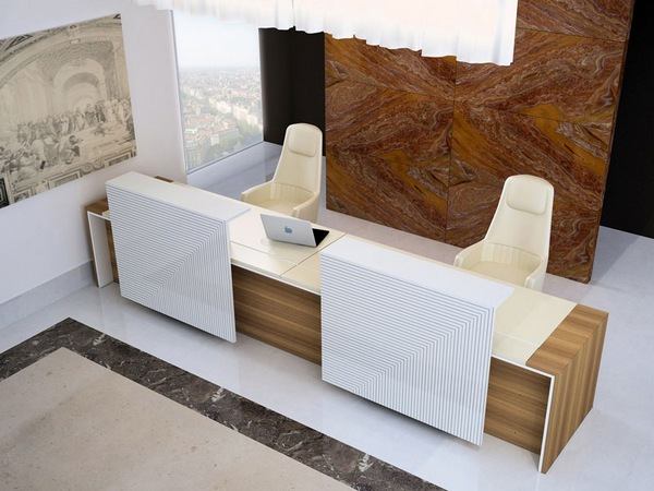 modern office counter design pictures
