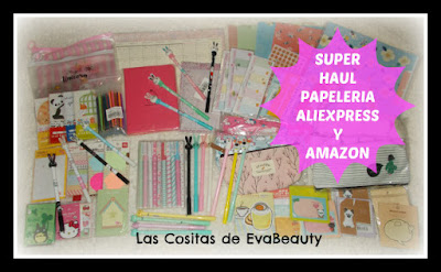 papelería amazon y aliexpress, kawaii, bonita, low cost