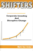 """Book Cover for """"Shifters, Corporate Investing and Disruptive Change"""""""