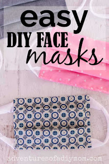 easy diy face mask