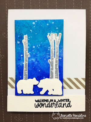 Serene Silhouettes | Newtons Nook Designs | Card Created by Danielle Pandeline
