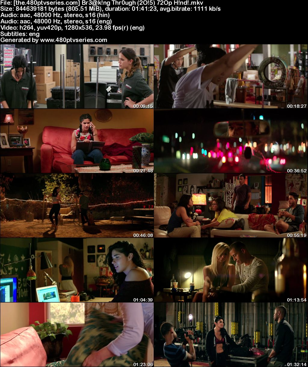 Watch Online Free Breaking Through (2015) Full Hindi Dual Audio Movie Download 480p 720p Bluray