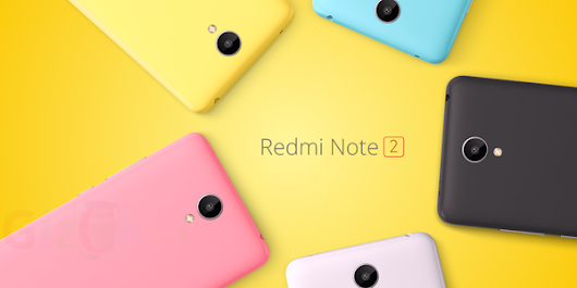 Redmi Note 2 with 1080p Screen, Helio X10 Chipset launched!