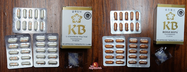 Revisão do produto: Glutationa KB + NAC (KB GlutaNAC) e Rosehips (Glutationa Kyusoku Bihaku) | Querida Kitty Kittie Kath 5