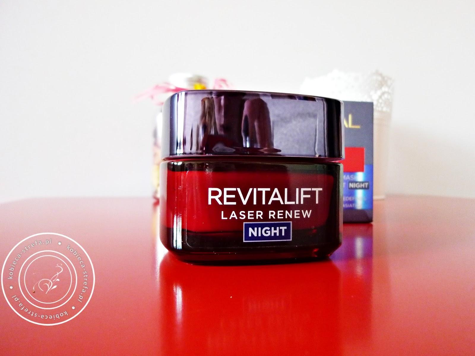 Revitalift Laser Renew NIGHT – krem przeciwzmarszczkowy na noc 40-60 – L'Oreal Paris