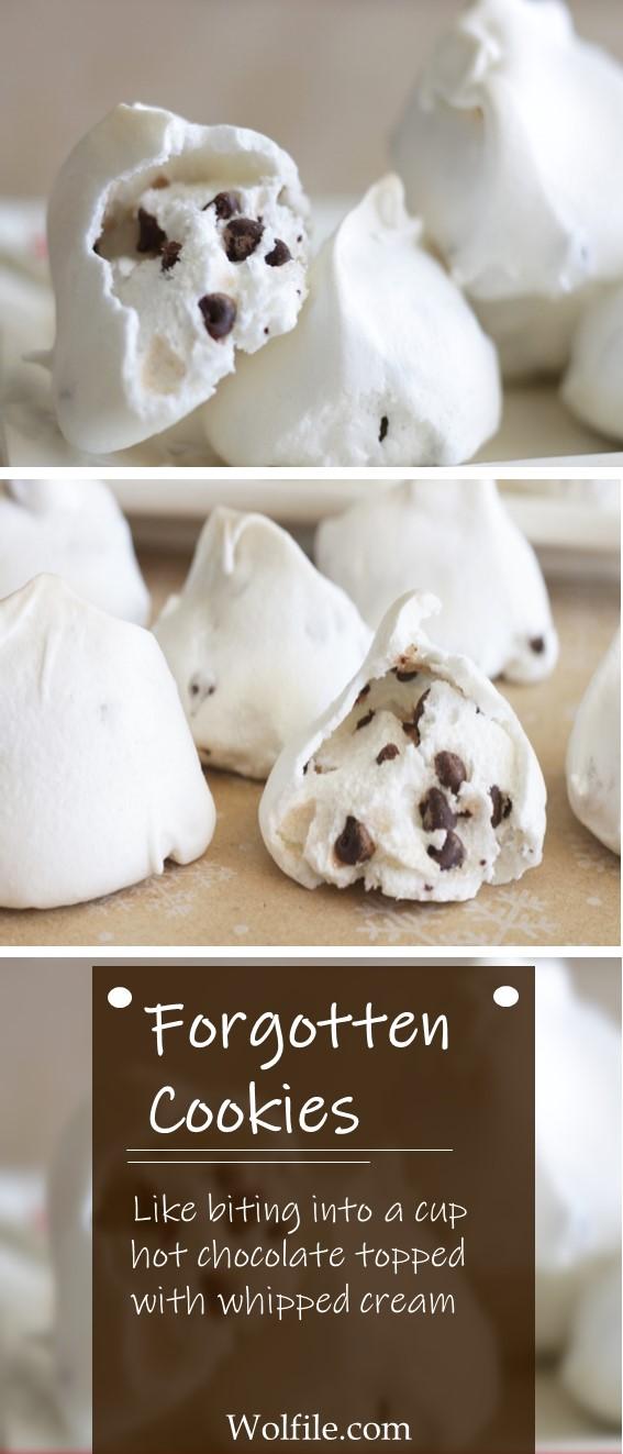 Forgotten Cookies #Cookies #ChocolateChips