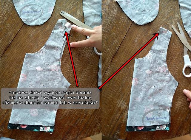 Jak uszyć crop top DIY z przeróbki spódnicy - Adzik tworzy