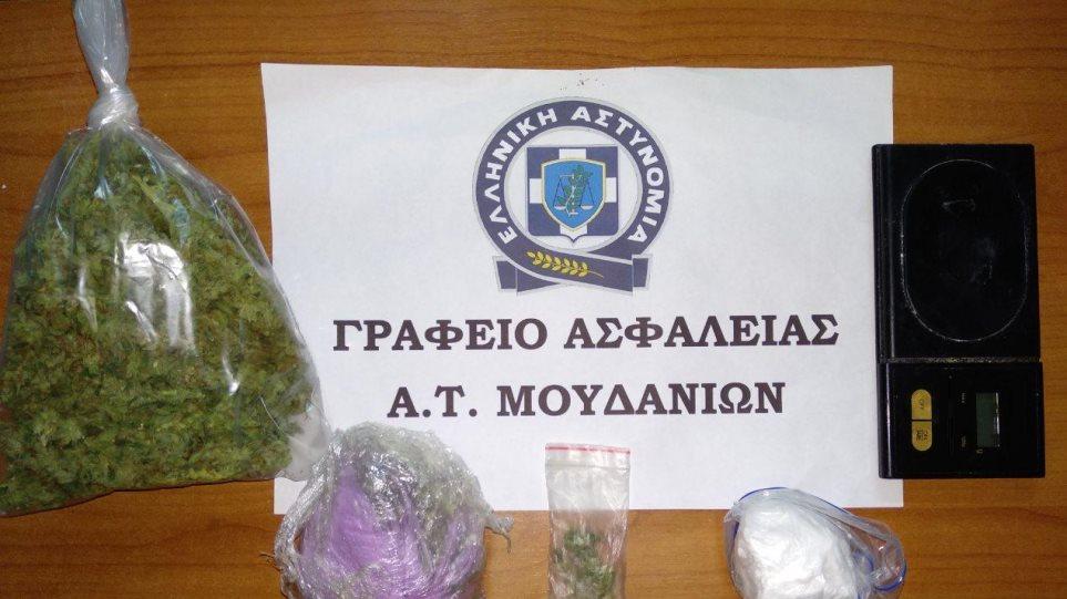 Διακινούσε κοκαΐνη και χασίς στην Χαλκιδική