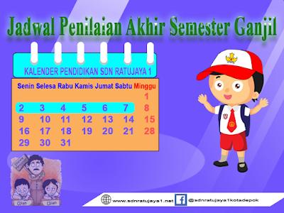 jadwal PAS 2019/2020 semester 1