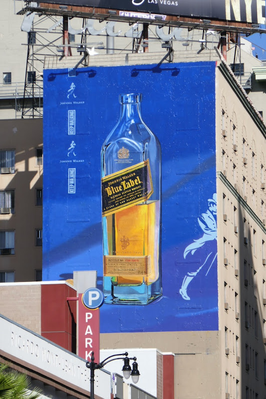 Johnnie Walker Blue Label Holidays 2019 billboard