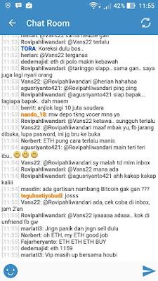 Chatroom vip bitcoin