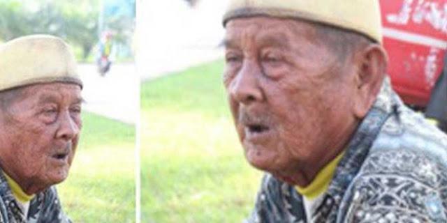 Sungguh Menyayat Hati,Kisah Pilu Kakek Tua Berusia 77 Tahun Ini, Berjuang Hidup Namun Tetap Dermawan