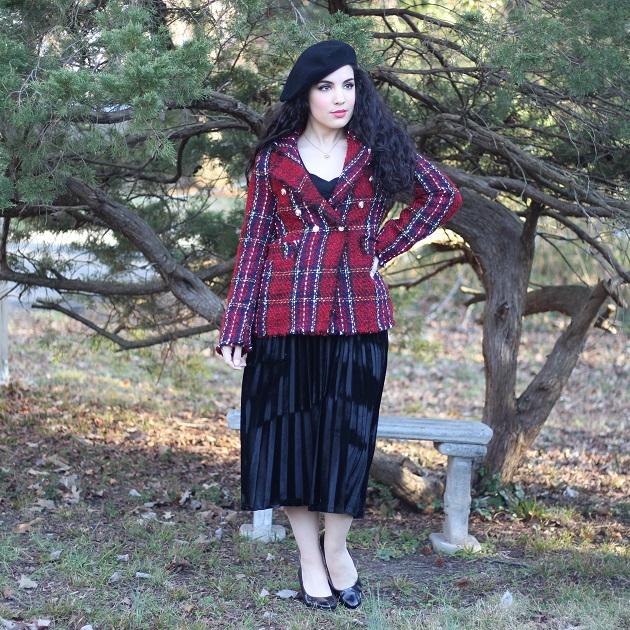 SHEIN Skirt Set and Jacket