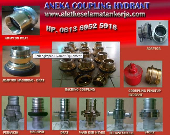 coupling hydrant, machino coupling, storz coupling, instantaneous coupling, drat coupling, vdh coupling, van der heyde coupling, adaptor coupling, penyambung selang
