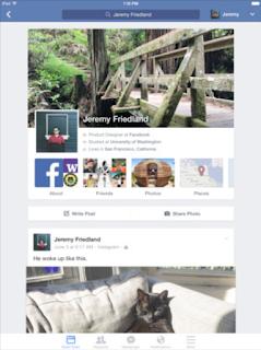 Facebook: l'app si aggiorna alla vers 249.0