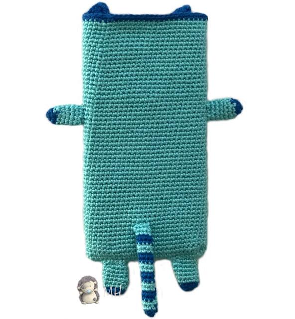 Funda icat a crochet