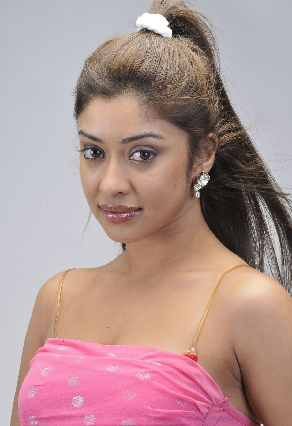 Payal Ghosh Latest Photoshoot In Pink Dress